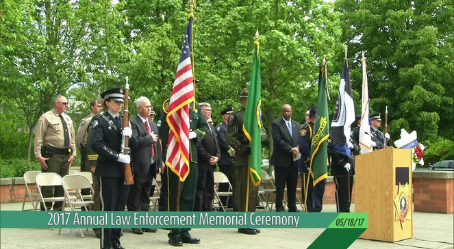 Law Enforcement Memorial Ceremony (05-18-17)