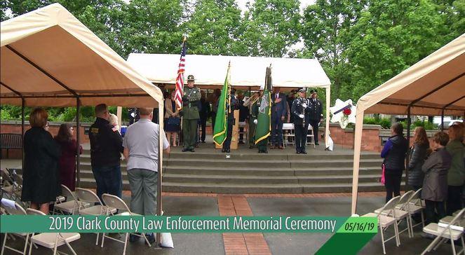 Law Enforcement Memorial Ceremony (05-16-19)