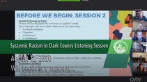 Systemic Racism in Clark County Listening Session (08-12-20)