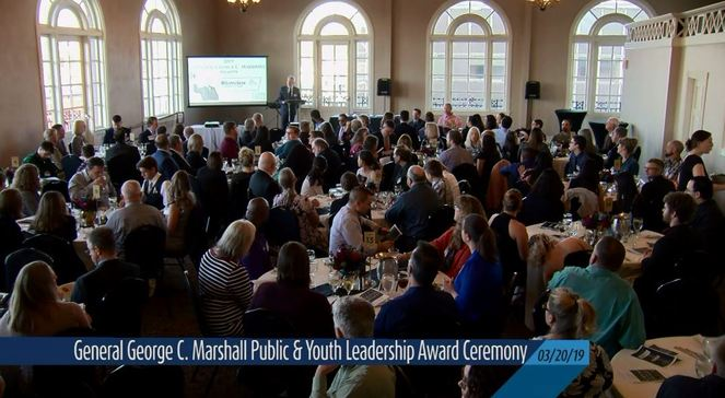 General George C. Marshall Public & Youth Leadership Awards Ceremony (03-20-19)