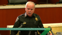 Clark County Sheriff Press Briefing Regarding Officer Involved Shooting (10-30-20)